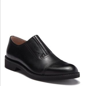 VINTAGE FOUNDRY THE ROSSI LEATHER OXFORD IN BLACK